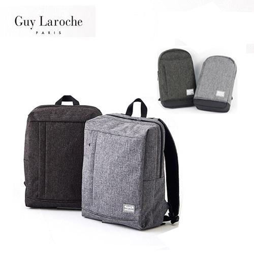 GuyLaroche기라로쉬 심플스퀘어 백팩+반달 슬링백 세트 GIRU-BB03-M+GIRU-BS01-M