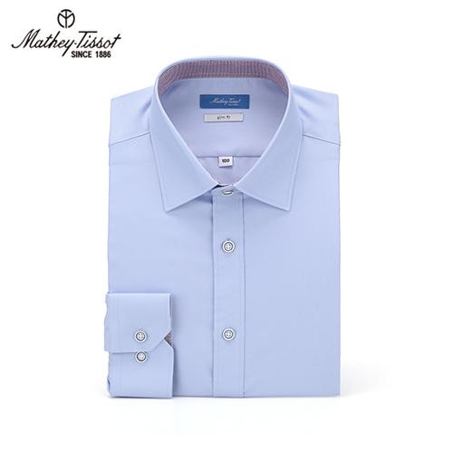 Mathey-Tissot 메티티솟 드레스 셔츠 SSR Twill 소라 TMH2D4101BL