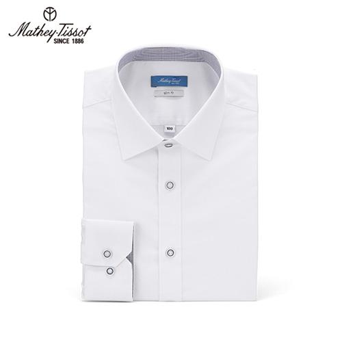 Mathey-Tissot 메티티솟 드레스 셔츠 스판 Twill 화이트 TMH2D4102WH